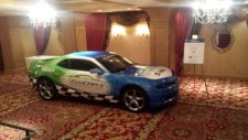 EcoCAR 3 Camaro on Display at the HEV Symposium
