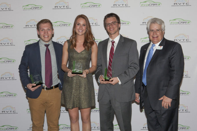 From May 29-June 4, 2015, teams gathered for the EcoCAR 3 Year One in Seattle, WA to compete in technical, communications, and project management events. Throughout the week, students will share their efforts over this last year with industry experts and judges to highlight the viability of their advanced technology vehicle designs.